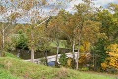 Γέφυρα Burnside σε ένα πρωί πτώσης στοκ φωτογραφία με δικαίωμα ελεύθερης χρήσης