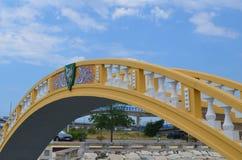 Γέφυρα Carcavelos, Αβέιρο, Πορτογαλία Στοκ Φωτογραφίες