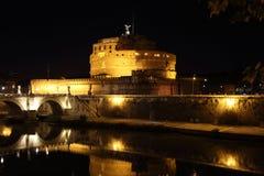 Γέφυρα Castel Sant Angelo Αγίου Angelo Castle Στοκ φωτογραφία με δικαίωμα ελεύθερης χρήσης