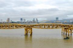 Γέφυρα Cau Rong, DA Nang Βιετνάμ δράκων Στοκ Εικόνα