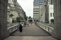 Γέφυρα Cavenagh στοκ φωτογραφία με δικαίωμα ελεύθερης χρήσης