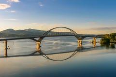γέφυρα champlain στοκ φωτογραφία