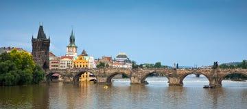 Γέφυρα Charles, Πράγα, Δημοκρατία της Τσεχίας Στοκ Εικόνες