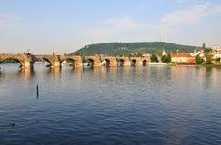 γέφυρα Charles Πράγα Στοκ εικόνες με δικαίωμα ελεύθερης χρήσης