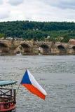 Γέφυρα Charles, Πράγα Στοκ Εικόνες