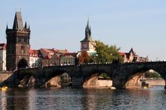 γέφυρα Charles Στοκ Εικόνες
