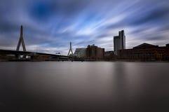 Γέφυρα Charlestown, Βοστώνη Στοκ φωτογραφία με δικαίωμα ελεύθερης χρήσης