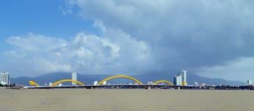 Γέφυρα Danang Βιετνάμ δράκων Στοκ εικόνα με δικαίωμα ελεύθερης χρήσης
