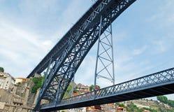 Γέφυρα DOM Louis στο Πόρτο (Πορτογαλία) Στοκ εικόνα με δικαίωμα ελεύθερης χρήσης