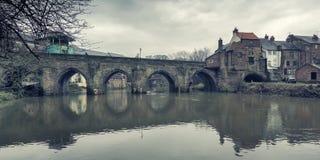 Γέφυρα Elvet, Durham Στοκ Εικόνα