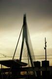 γέφυρα erasmusbrug Στοκ εικόνες με δικαίωμα ελεύθερης χρήσης