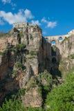Γέφυρα στη Ronda, Ανδαλουσία, Ronda, Ισπανία Στοκ Εικόνες