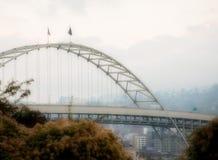 γέφυρα fremont Όρεγκον Πόρτλαντ στοκ εικόνες με δικαίωμα ελεύθερης χρήσης