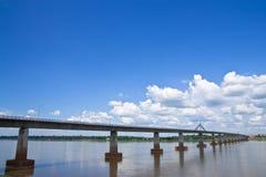 γέφυρα friendshiop λαοτιανός Ταϊλανδός στοκ εικόνα