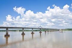 γέφυρα friendshiop λαοτιανός Ταϊλ&alpha στοκ εικόνες με δικαίωμα ελεύθερης χρήσης