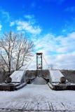 γέφυρα gagaryn Στοκ φωτογραφία με δικαίωμα ελεύθερης χρήσης