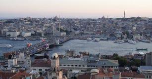 Γέφυρα Galata της Ιστανμπούλ στοκ φωτογραφίες με δικαίωμα ελεύθερης χρήσης