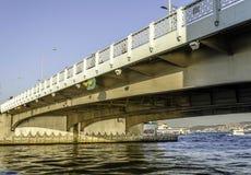 Γέφυρα Galata Στοκ Εικόνα