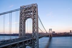 γέφυρα George Ουάσιγκτον Στοκ Φωτογραφίες