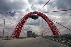 γέφυρα ghivopisny Στοκ Εικόνες