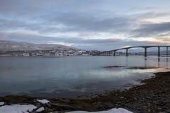 Γέφυρα Gisund Στοκ φωτογραφίες με δικαίωμα ελεύθερης χρήσης