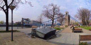 Γέφυρα Grunwaldzki Στοκ εικόνες με δικαίωμα ελεύθερης χρήσης