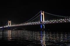 Γέφυρα Gwangan Στοκ Εικόνες