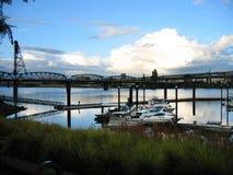 Γέφυρα Hawthorne Στοκ Φωτογραφίες