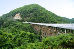 Γέφυρα Huaitong Στοκ φωτογραφία με δικαίωμα ελεύθερης χρήσης