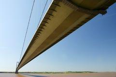 Γέφυρα Humber, Κίνγκστον επάνω στο Hull Στοκ Φωτογραφίες