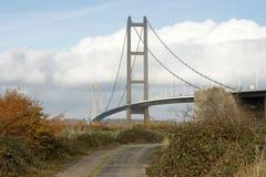 Γέφυρα Humber, Κίνγκστον επάνω στο Hull Στοκ Εικόνα