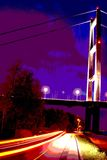 Γέφυρα Humber, Κίνγκστον επάνω στο Hull Στοκ Φωτογραφία