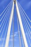 Γέφυρα Hungerford και χρυσές γέφυρα ιωβηλαίου στον ποταμό του Τάμεση, Λονδίνο, Ηνωμένο Βασίλειο Στοκ φωτογραφία με δικαίωμα ελεύθερης χρήσης