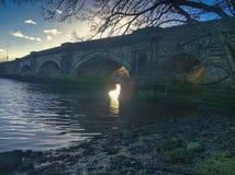Γέφυρα Inchinnan Στοκ Φωτογραφίες