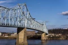 Γέφυρα ironton-Russell στοκ εικόνα