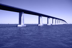 γέφυρα joaquin πέρα από τον ποταμό SAN Στοκ φωτογραφία με δικαίωμα ελεύθερης χρήσης