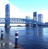 γέφυρα johns πέρα από τον ποταμό ST στοκ φωτογραφίες