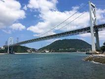Γέφυρα Kanmonkyo Σκηνή, Ιαπωνία Στοκ φωτογραφία με δικαίωμα ελεύθερης χρήσης