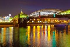Γέφυρα Khmelnitsky Bogdan στη Μόσχα Στοκ εικόνες με δικαίωμα ελεύθερης χρήσης