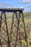 Γέφυρα Kinzua Στοκ εικόνα με δικαίωμα ελεύθερης χρήσης