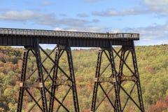 Γέφυρα Kinzua Στοκ φωτογραφία με δικαίωμα ελεύθερης χρήσης