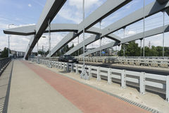 Γέφυρα Kotlarski στην Κρακοβία Στοκ φωτογραφία με δικαίωμα ελεύθερης χρήσης
