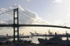 γέφυρα Los της Angeles στοκ εικόνες