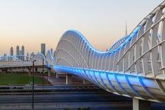 Γέφυρα Meydan στο Ντουμπάι Στοκ φωτογραφία με δικαίωμα ελεύθερης χρήσης