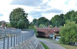 Γέφυρα Moltke στο Βερολίνο Στοκ Φωτογραφίες