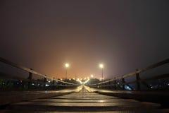 γέφυρα mon ξύλινη Στοκ φωτογραφίες με δικαίωμα ελεύθερης χρήσης
