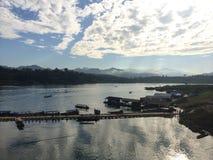 Γέφυρα Mon στοκ φωτογραφίες