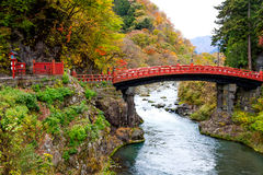 Γέφυρα Nikko Shinkyo Στοκ εικόνα με δικαίωμα ελεύθερης χρήσης