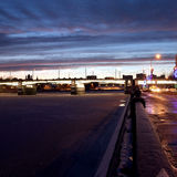 Γέφυρα Novospassky στοκ εικόνα