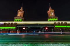 Γέφυρα Oberbaumbruecke Στοκ εικόνες με δικαίωμα ελεύθερης χρήσης